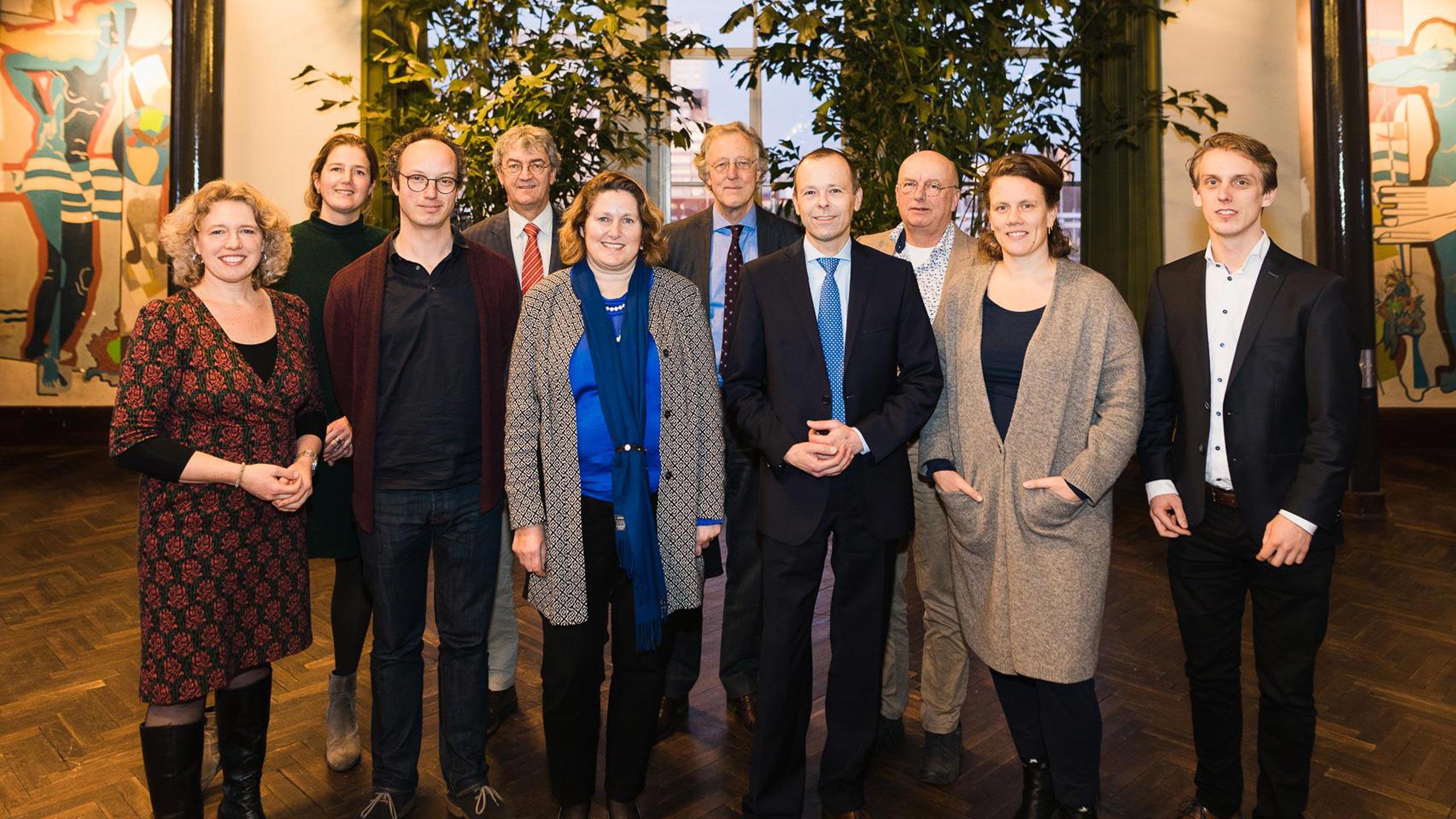 Intentieovereenkomst Het Rotterdams Woongenootschap en Timpaan